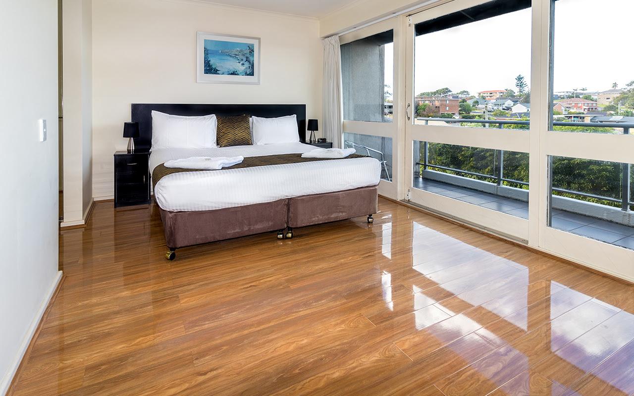 Horizon Holiday Apartments 1 Bedroom Apt Bedroom