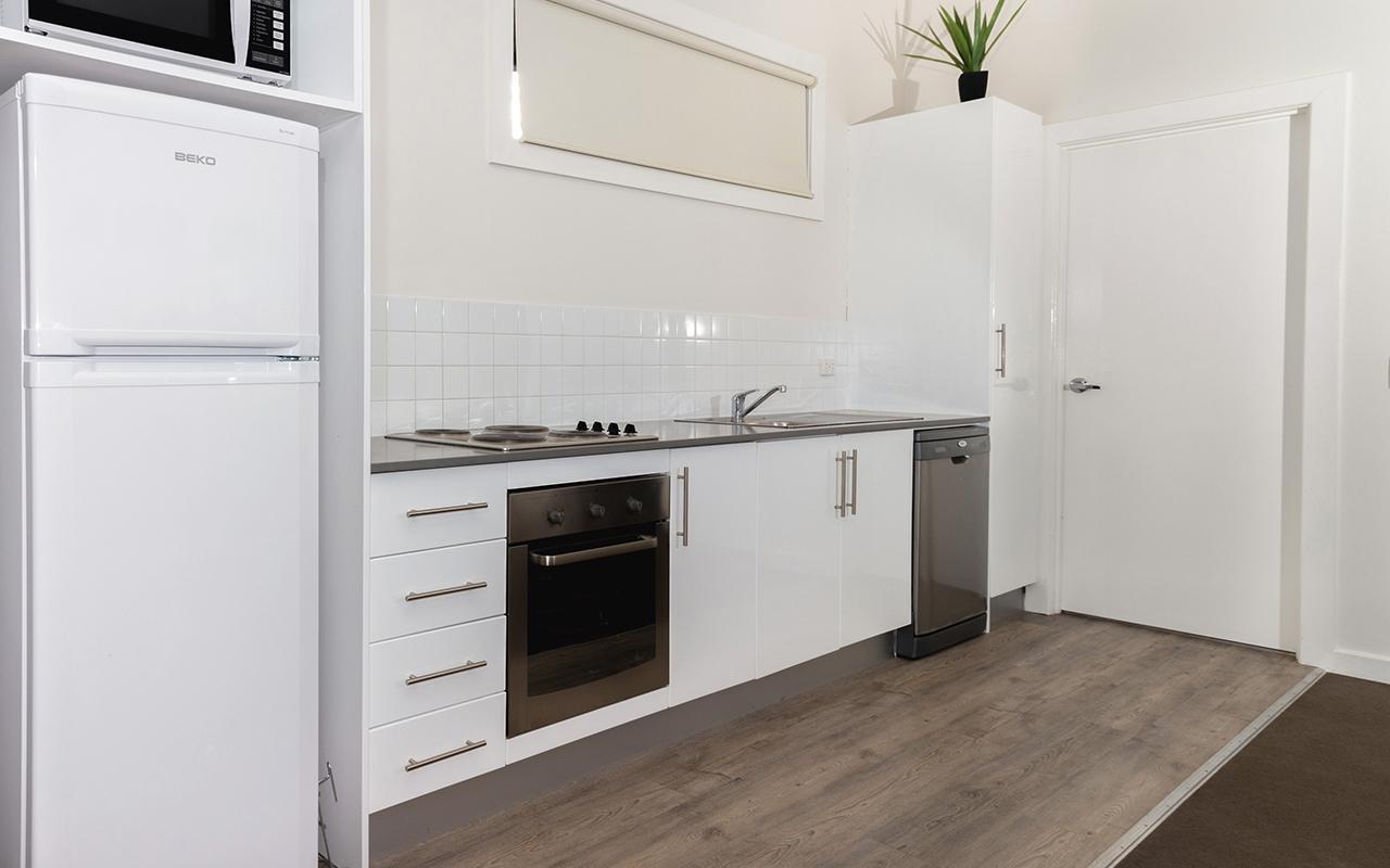Horizon Holiday Apartments 2 Bedroom Family Kitchen