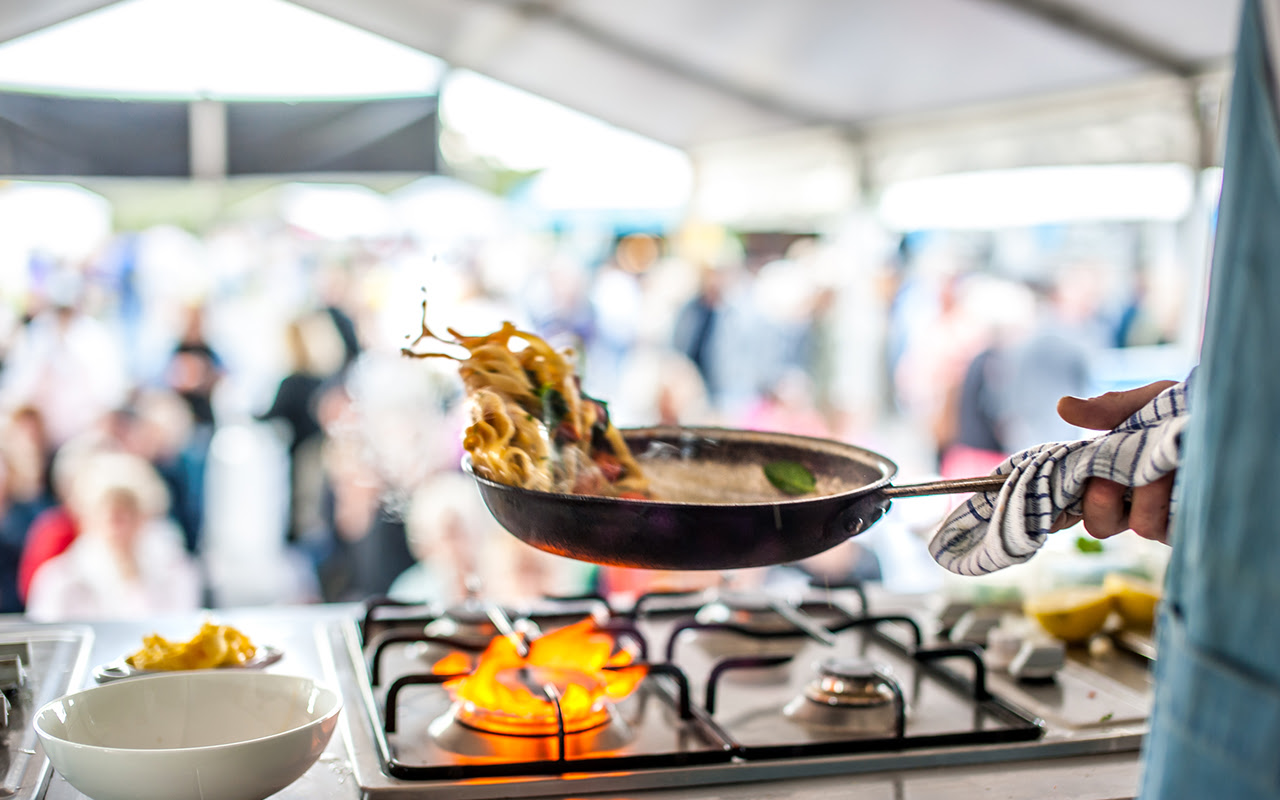 Narooma Oyster Festival - Cooking Demo