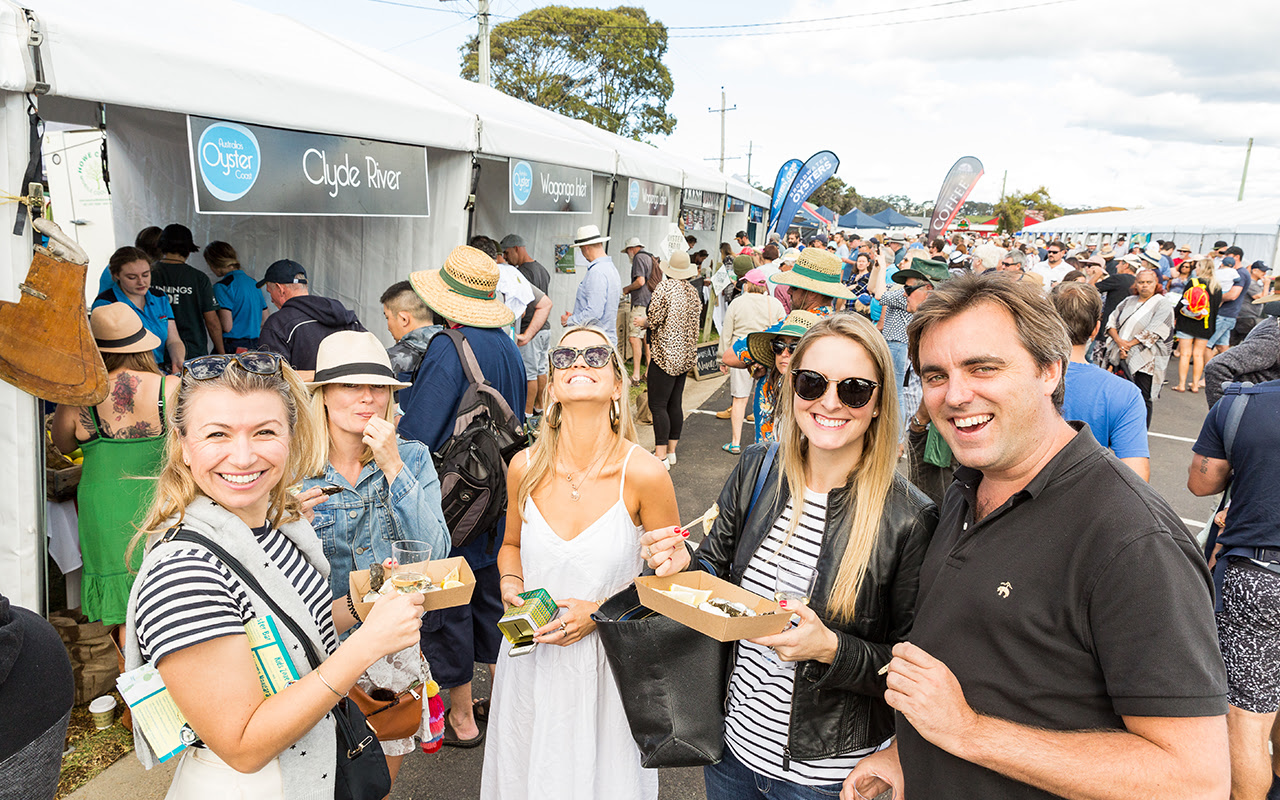 Narooma Oyster Festival - Oyster Alley
