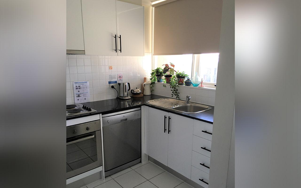 Horizon Holiday Apartments 2 Bedroom Apt Kitchen